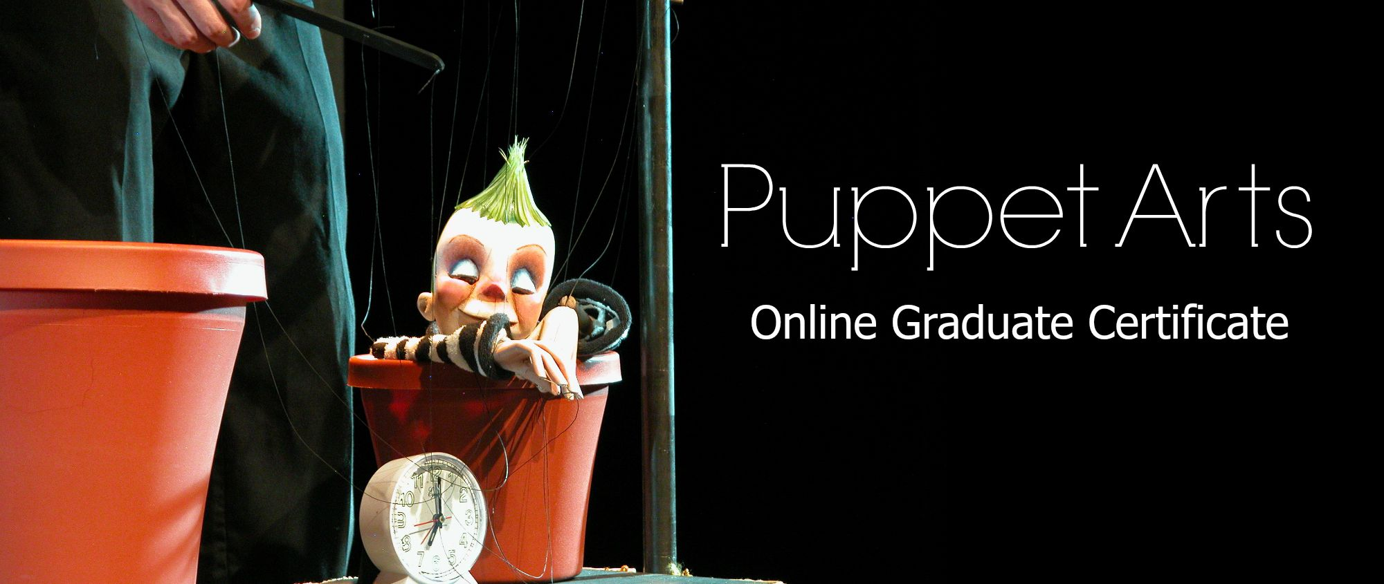 UConn Puppetry Arts Online Graduate Certificate