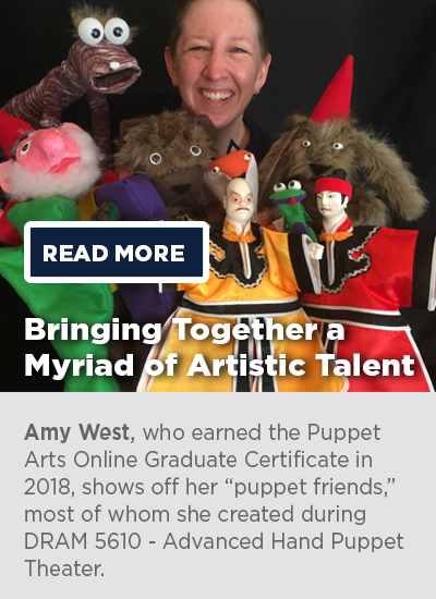 UConn Online Puppetry Arts Graduate Certificate